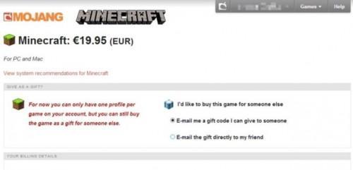 Minecraft: Koop Gift Code