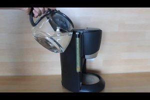 Het ontkalken koffiezetapparaat met azijn - hoe het werkt
