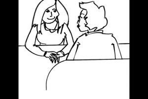 Flirten via lichaamstaal
