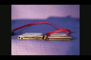 Sluit de harde schijven connectors goed - hoe het werkt