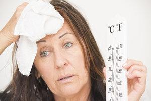 Zweten tijdens de menopauze - wat helpt?