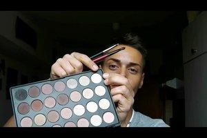 Make-up hangende oogleden - zodat je het goed