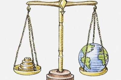 Erde Gewicht