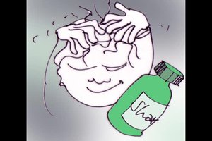 Behandel schimmel op de hoofdhuid - hoe het werkt
