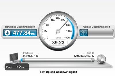 Unitymedia Speedtest presteren goed - hoe het werkt