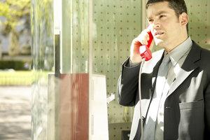 Stuur SMS van telefooncel