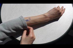 Tattoo te beschermen tegen de zon - dus slaagt's
