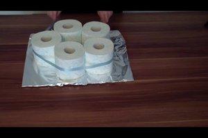 Bruidstaart Van Toiletpapier.Toiletpapier Taart Tinker Instructies