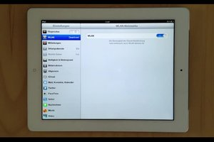 Hoe krijg ik met de iPad op het internet?