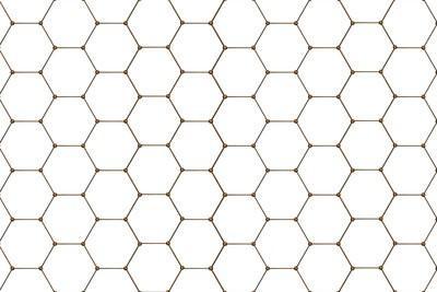Hoe ziet u de oppervlakte van een zeshoek berekenen?