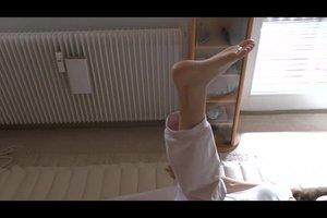 Het kalf omtrek daling - deze oefeningen maken slanke benen