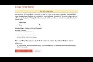 Hoe kan ik mijn Google-account verwijderen?  Instructies