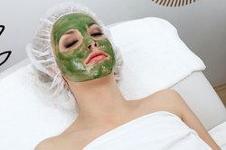 Sushi voor het gezicht - algen masker tegen roodheid van de huid