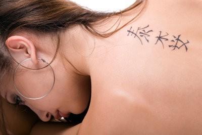 Lettertype voor tatoeages - zodat u de juiste lettertype te vinden
