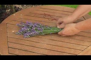 Lavendel drogen Lavendelsäckchen - dus slaagt's