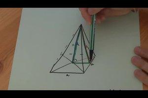 Bereken de hoogte van een piramide - hoe het werkt
