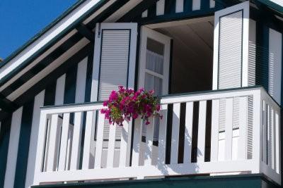 Gebruik planten zo creatief privacy - balkon