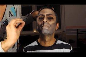 Halloween make-up ideeën - griezelige make-up als de professionele