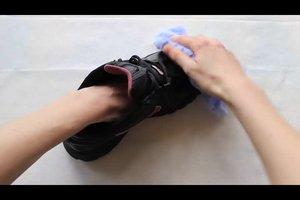 Verwijder schimmel op schoenen - hoe het werkt