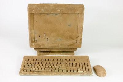 Reinig uw computerscherm - zodat je het voorzichtig doen