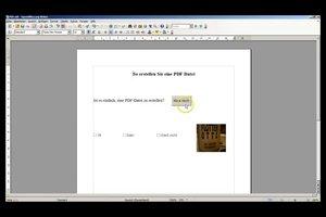 Beschrijfbare PDF - zodat u formulieren zelf maken